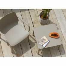 Tavolino caffè modello Argo H40 Scab Design SPED.GRATUITA impilabile in tecnopolimero da esterno giardino hotel