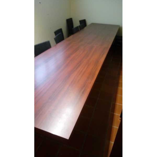Tavolo riunione Usato Ottimo stato colore ciliegio ufficio   eBay
