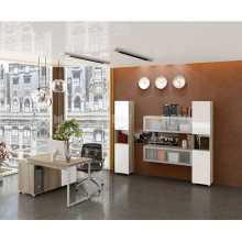Ufficio Business 2 - Arredo ufficio completo in legno nobilitato melaminico