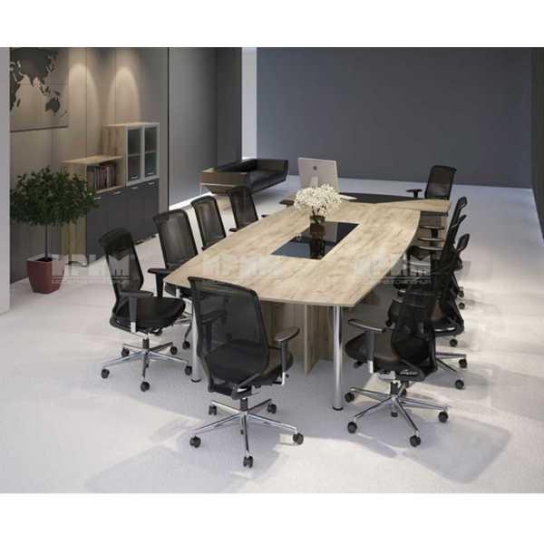 Ufficio business 6 arredo ufficio completo in legno for Ufficio completo