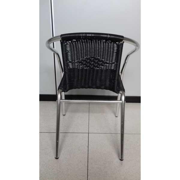 Sedie In Rattan Da Esterno.Vendita Sedia Poltrona Sedie E Poltrone Impilabili In Alluminio