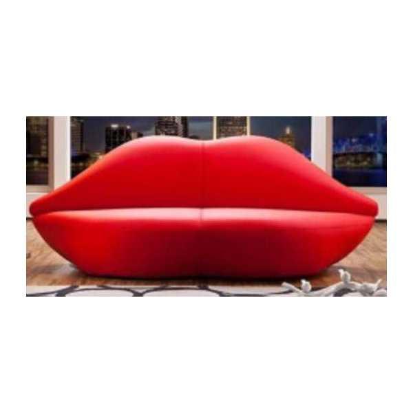 Divano bacio divanetti bar divani hotel divano da casa - Divano in pelle o ecopelle ...