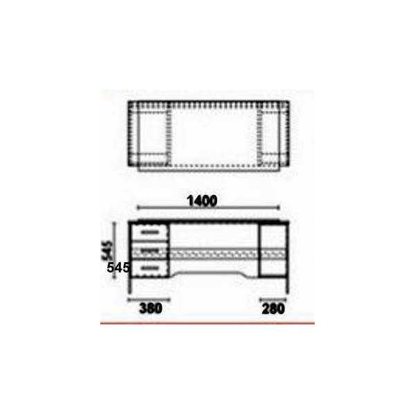 Vendita scrivania mobili ufficio un posto arredo uffico for Mobile con chiave per ufficio