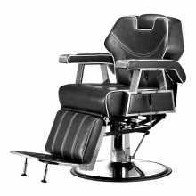 Sedia poltrona mod.6885 parrucchiere barbiere professionale reclinabile, alzabile per salone parrucchiere