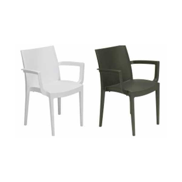 Poltrone Plastica Per Esterni.Vendita Delle Sedie E Poltrone Impilabili In Plastica Polipropilene