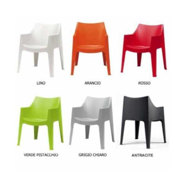 Vendita delle sedie e poltrone impilabili in plastica for Sedie per piscina