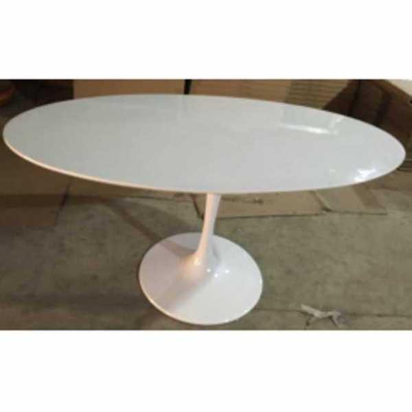 Vendita in occasione dei tavolo tavoli tulip tondi o ovali in mdf per casa bar ristorante for Tavoli ovali ikea